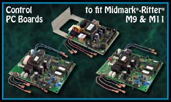 replacement parts industries news archive six pc board to fit new style midmark® • ritter® ultraclave® m9 m11 sterilizers now available