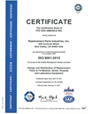 RPI is an ISO 9001 certified company.
