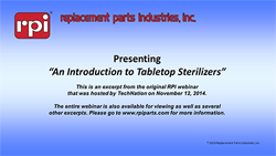 An Introduction to Tabletop Sterilizers (6:15)