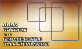 RPI is Your Best Source for Door Gaskets to fit Getinge/Castle Bulk