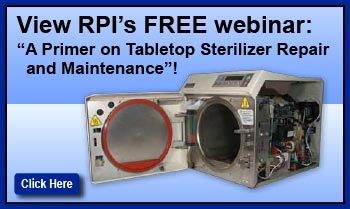 View RPI's Free Webinar on Tabletop Sterilizers!